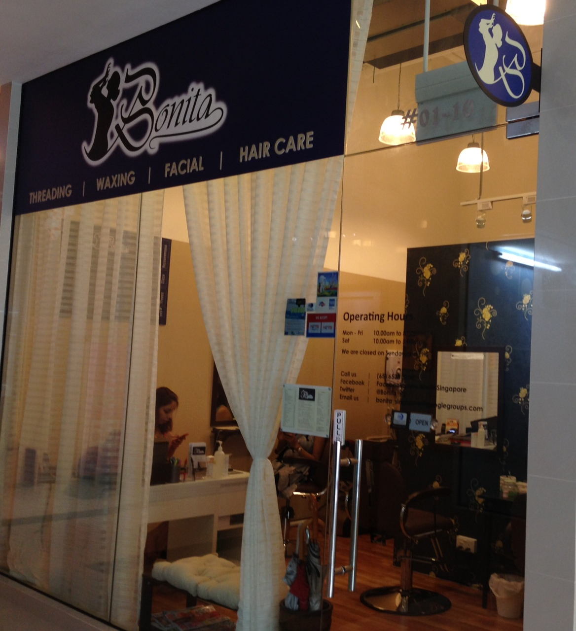 Shop Alert : Bonita Beauty Parlour (Singapore)