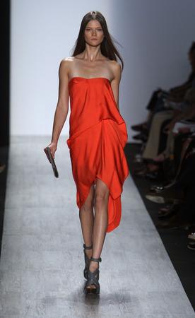 Orange dress by Max Azria