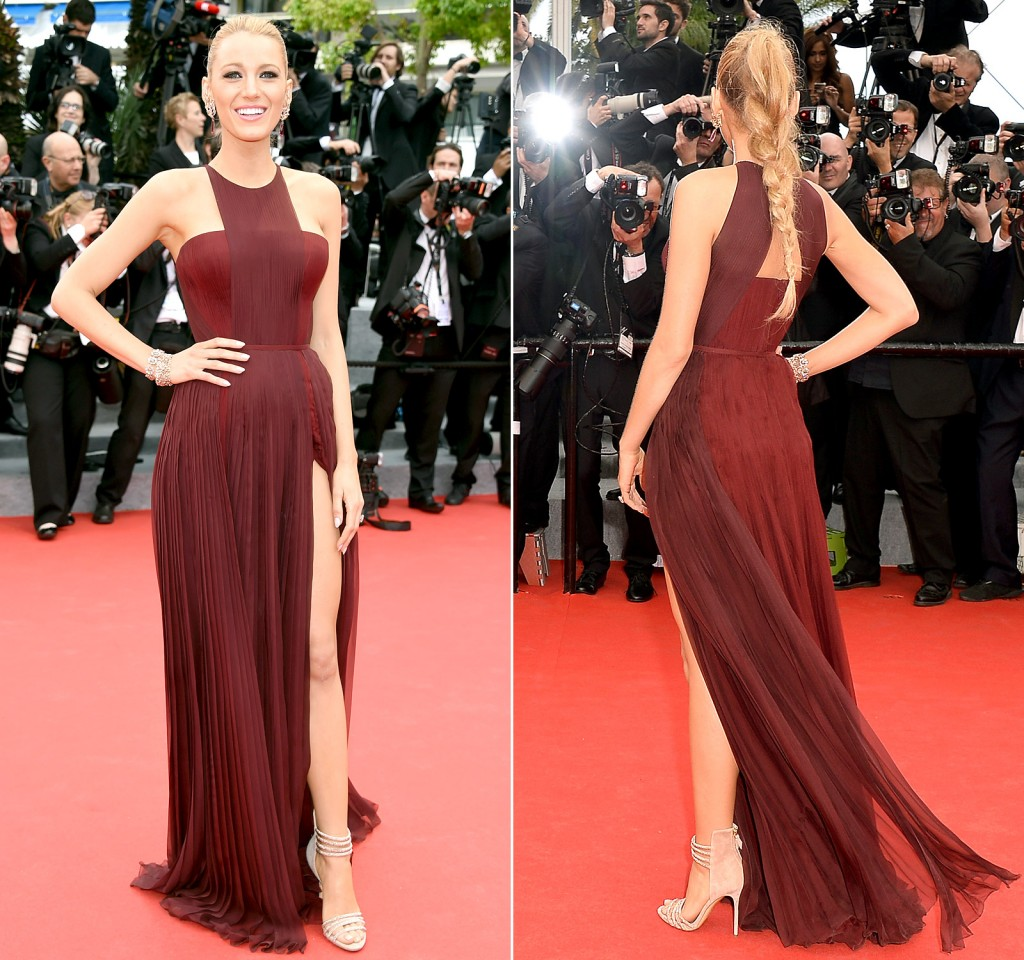 Blake Lively in a Gucci ( Source : Gettyimages)