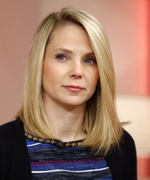 Marissa Mayer,current CEO of Yahoo is often seen with all natural makeup with a light peach lipstick.