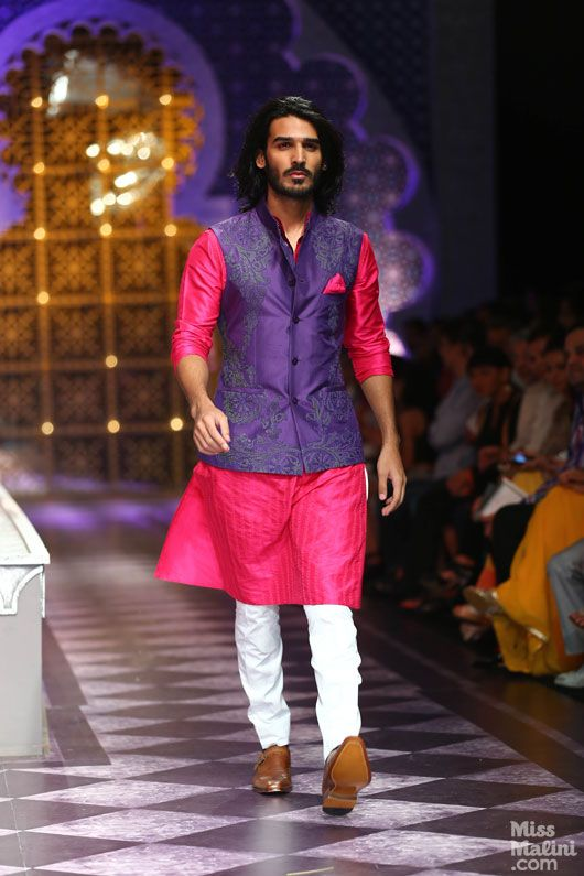 Purple Designer Bandi from IBFW 2013 ( pic courtesy : Missmalini.com)
