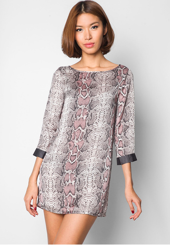 Printed Shift Dress (Ezra, Zalora )