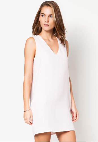 Minimal Shift Dress (Mango - Zalora)