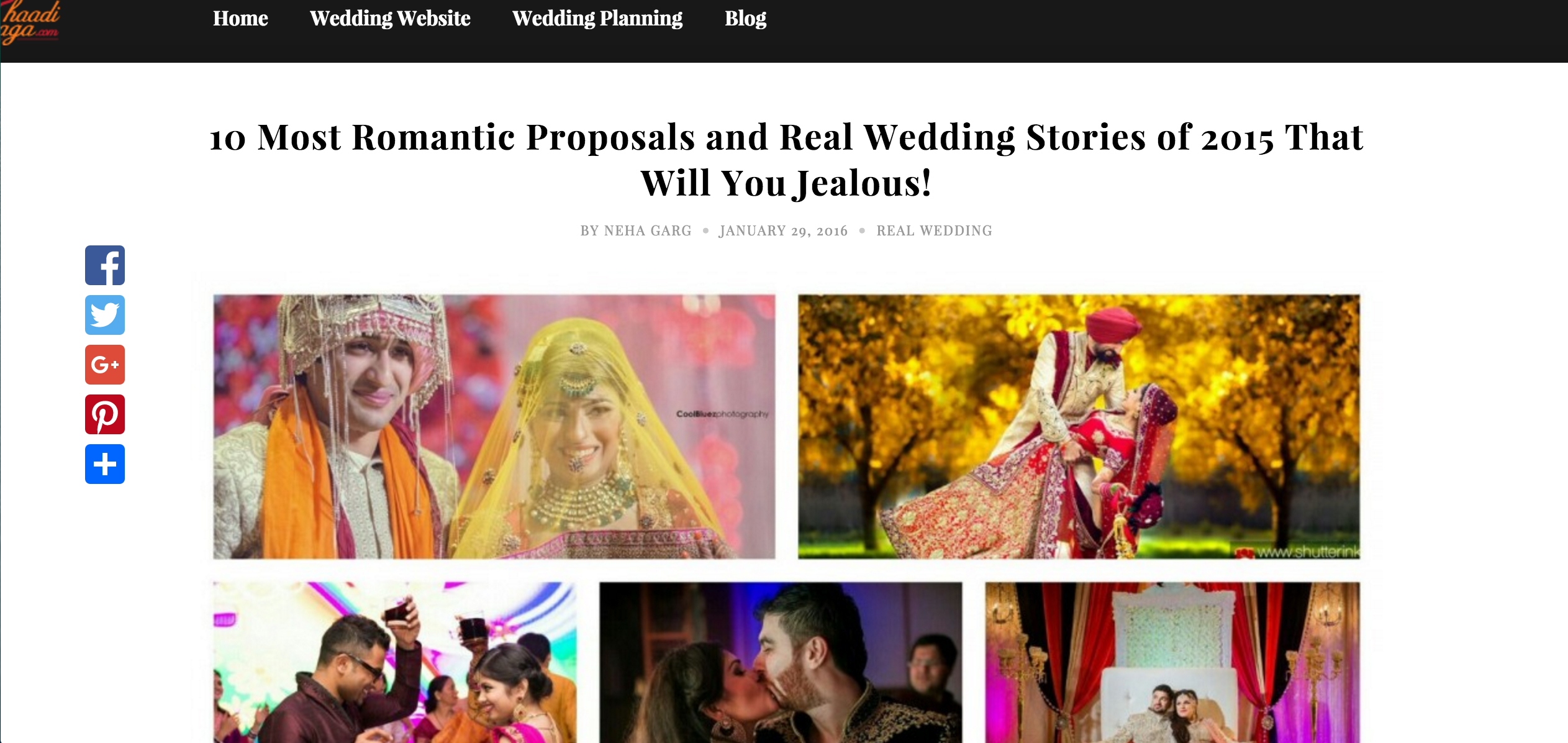 #Featured 10 Most Romantic Proposals and Real Wedding Stories of 2015 That Will You Jealous!