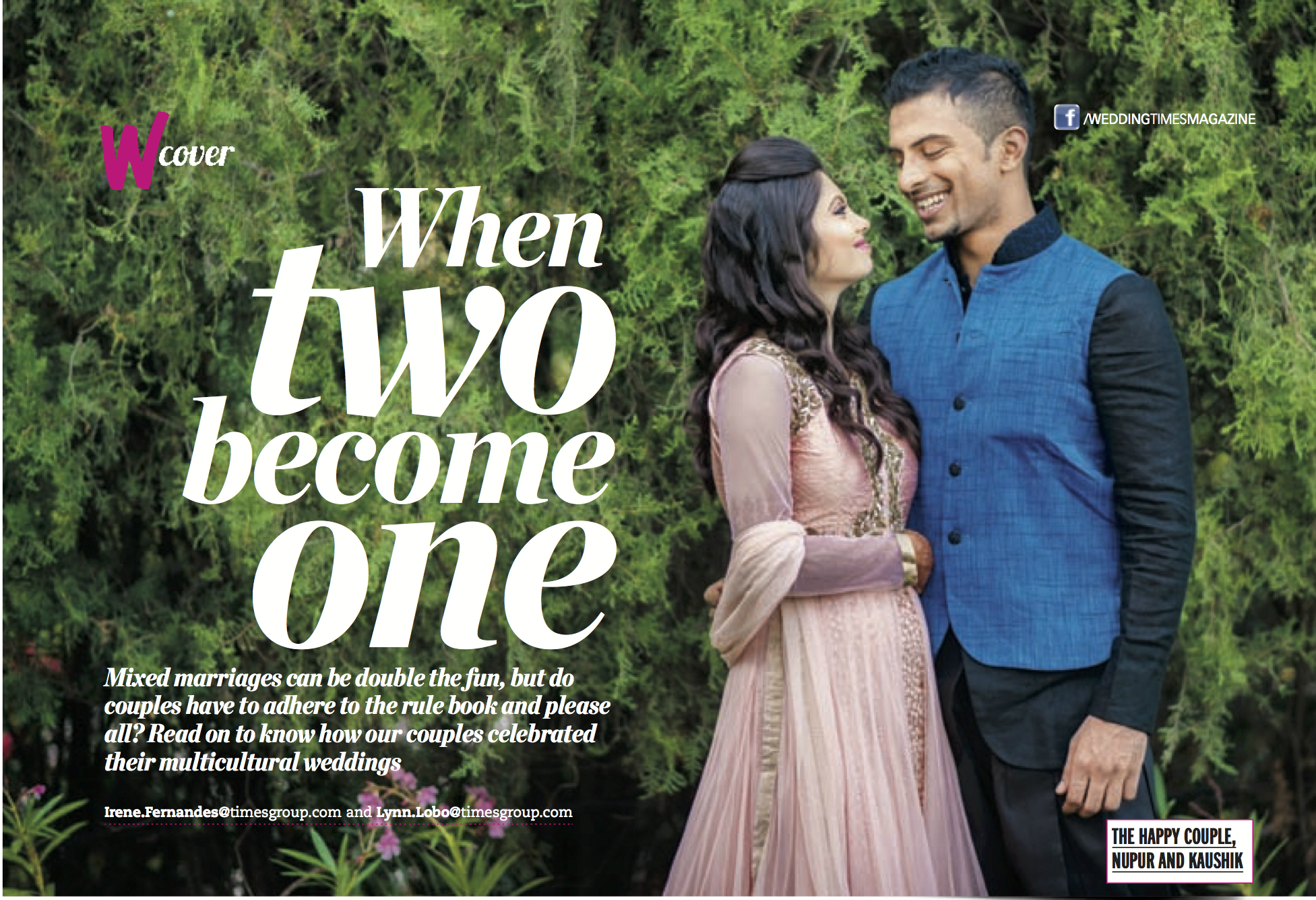 #Featured – Wedding Times ( Times of India Production)