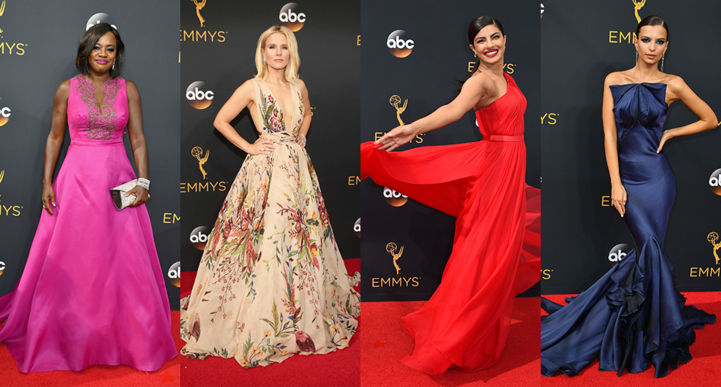 EMMY 2016 Red Carpet Favourites – My Top 8