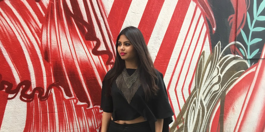 Black Cape Top By Boohoo