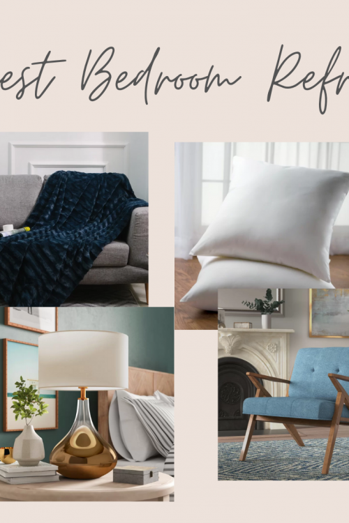 New Home Makeover – Guest Bedroom Refresh